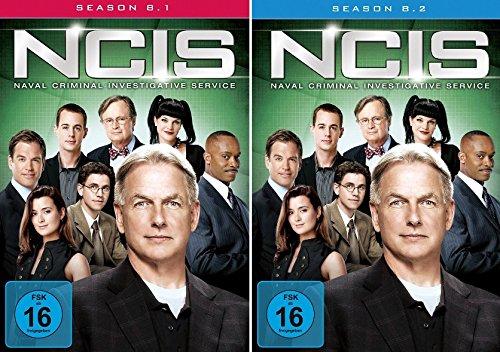Navy CIS Staffel 08 (8.1 + 8.2) im Set - Deutsche Originalware [6 DVDs]