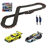Carrera Digital 132 20030011 GT Race Battle Digital Electric 1: 32 Scale Slot Car Racing Track Set for Racingup to 6 Cars at Once - Includes Two 1: 32 Scale Cars & Two Dual-Speed Controllers Ages 8+