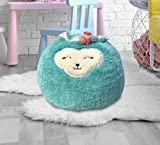Beanbag For Kids: Soft And Comfortable Stuffed Bean Bag Chair For The Nursery, Cute Animal Design For Boys And Girls, Lux Plush Fabric, For Children Of All Ages 18'' x 18'' x 14'' (Llama)