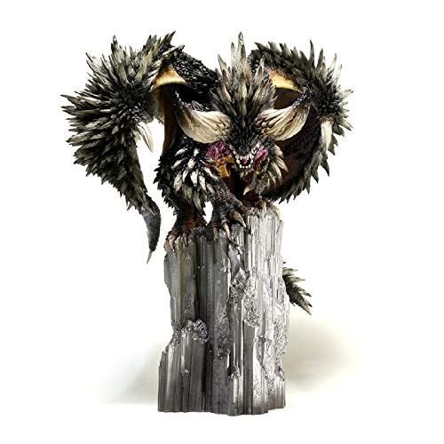 Action Figure Monster Hunter World ICE BRONE Nergigante Statue Dragon Model Toy Collections