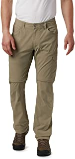 Columbia Men's Silver Ridge Stretch Convertible Pant, Breathable, UPF 50 Sun Protection