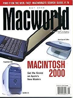 Macworld May 2000 Macintosh 2000 - Apple's New Models, Macworld Search Guide, iBook Special Edition, Fireworks New Animation Options, Latest in Digital Cameras - 3 Megapixel!