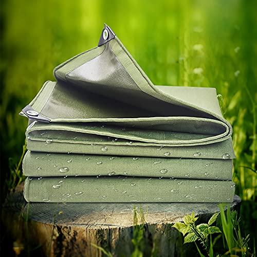SOME Lona Impermeable, Exterior Toldo y Duradera Resistente Al Agua y a Los Rayos UV, Muy Gruesa para Muebles, Jardín, Coche, Piscina, Camiones Al Aire Libre