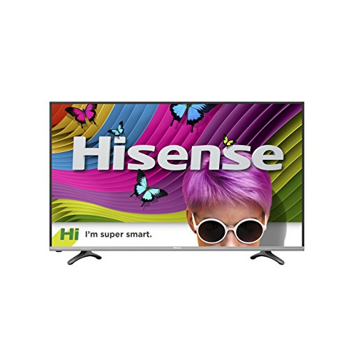 Hisense 50H8C 50-Inch 4K Ultra HD Smart LED TV (2016 Model) (Certified Refurbished)