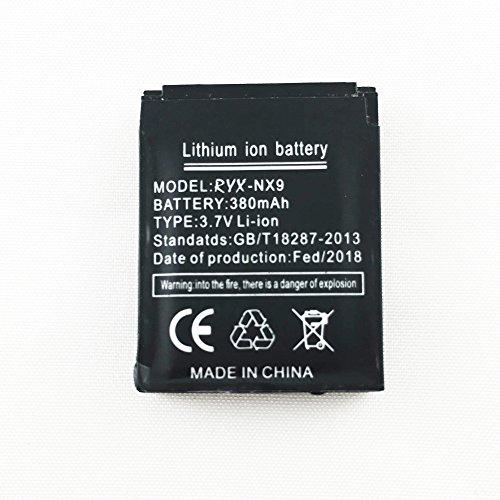 Smartwatch Batterie RYX-NX9 wiederaufladbare Lithium-Batterie mit 380MAH Kapazität