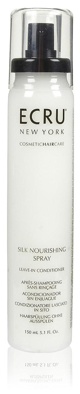 優雅な義務的累計ECRU New York シルク栄養スプレー、5.1液量オンス 5.1オンス