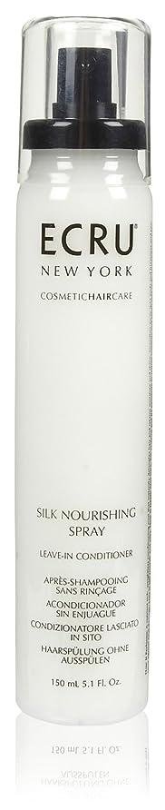 解明副いらいらさせるECRU New York シルク栄養スプレー、5.1液量オンス 5.1オンス