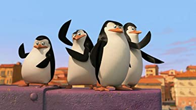 43inch x 24inch/107cm x 60cm Penguins Of Madagascar The Silk Poster Christmas Gift For Family Best Gift For Children
