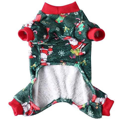 Nueva Ropa de Navidad para Mascotas, Mono de Pijama para Perros, Ropa Grande, Adecuado para Ropa de Navidad para Perros