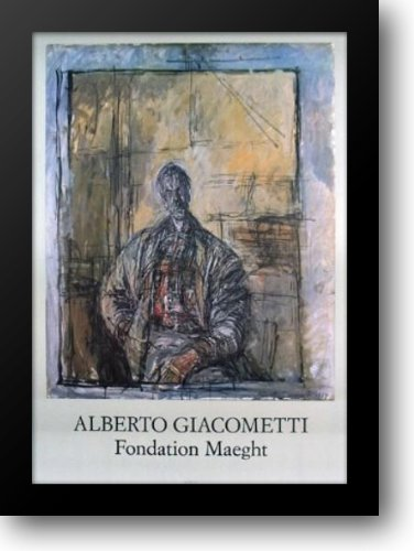 Diego a la Chemise Ecossaise 31x43 Framed Art Print by Giacometti, Alberto