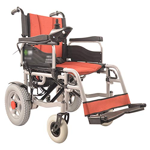 Best Review Of TXDWYF Lightweight Dual Function Foldable Power Wheelchair (Li-Ion Battery), Drive wi...