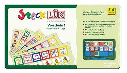 SteckLÜK: Vorschule mix 1 Mathe - Deutsch - Logik: Alter 5 - 6 (grün): Vorschule / Vorschule mix 1 Mathe - Deutsch - Logik: Alter 5 - 6 (grün)