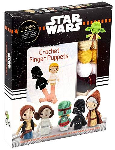 Star Wars Crochet Finger Puppets (Crochet Kits)