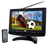 "Best Portable Digital TVs - Tyler TTV706 10"" Portable Widescreen 1080P LCD TV Review"
