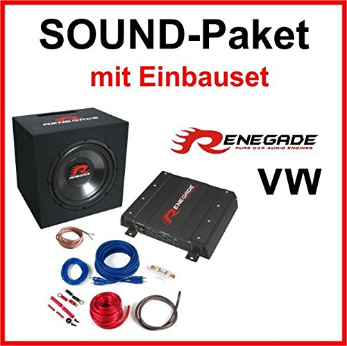 Subwoofer sound-pakket voor VW Polo 9N