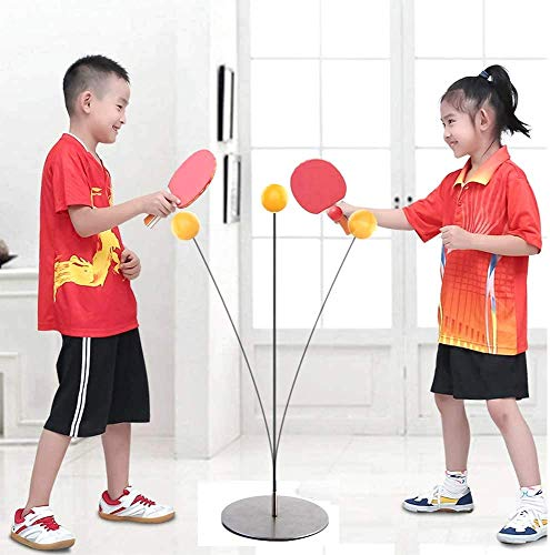 Chocozone Table Tennis Trainer Indoor Outdoor Adults/ Teenagers/ Kids Toy Sports Toys for 6 Years Old (Medium)