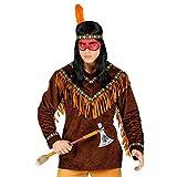 WIDMANN 00230 Disfraz de indio, para hombre, marrón, XXL , color/modelo surtido