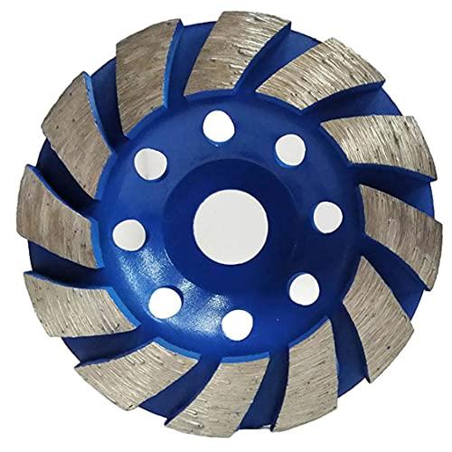 Copa Muela de diamante abrasivo espesado 100 mm de piedra concreto pulido amoladora Accesorios para discos para el hogar Productos Industriales