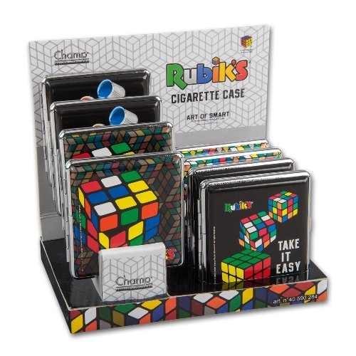 Zigaretten-Etuis Rubik-Cube - Estuche para 20 Cigarrillos de Formato Normal (8 Unidades)
