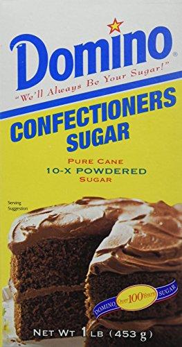 Domino Powdered Confectioners Sugar, 16 Ounce