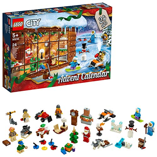 LEGO City Town - Calendario de Adviento 2019, Set con 24