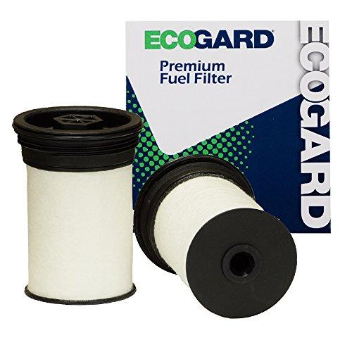 ECOGARD XF10505 Premium Diesel Fuel Filter (Set of 2) Fits Chevrolet Colorado 2.8L DIESEL 2016-2018 | GMC Canyon 2.8L DIESEL 2016-2018
