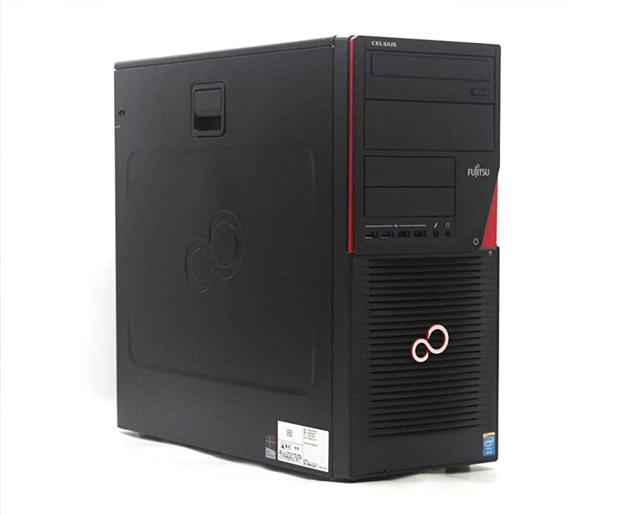 クルーズ年次アッパー【中古】 富士通 CELSIUS W530 Xeon E3-1225 v3 3.2GHz 8GB 1TB Quadro K4000 DVD+-RW Windows7 Pro 64bit
