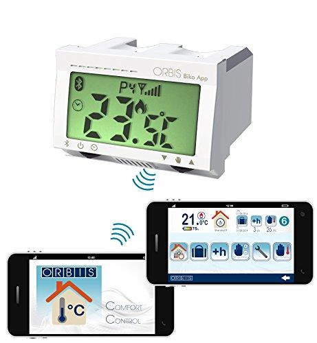 Orbis Ob325800 Biko Cronothermostat App Bluetooth/Smartphone