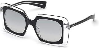 28b6810d924c Sunglasses Emilio Pucci EP 0079 03B black/crystal / gradient smoke