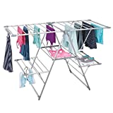 mDesign Tendedero plegable para colgar la ropa – Ideal...