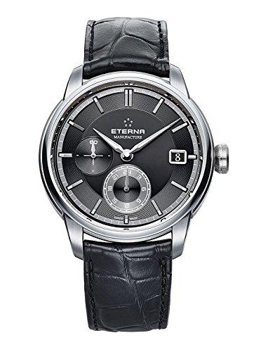 Eterna Herren-Armbanduhr Adventic GMT Manufacture Datum Analog Automatik 7661.41.46.1324