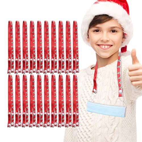 Cardi 10 Stück Mundschutz Lanyard Kinder Praktisch Sicherheit Halter Seil Gurt Für Mund_Und_Nasenschutz