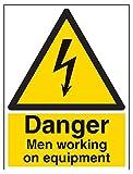 "Vsafety signos 68020bc-s""peligro Hombres Trabajando"