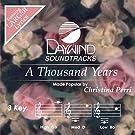 A Thousand Years [Accompaniment/Performance Track] (Daywind Soundtracks)