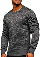 BOLF Sweat À Enfiler Sportif Homme Mix 1A1
