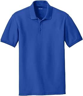 Joes USA Mens Core Classic Pique Polo Shirt in Regular Big /& Tall