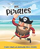 Les Pirates: 1er Livre de coloriage pirate - pirate cahier de coloriage pour enfants - Motiv trop cool - écoutez la chasse au trésor de votre enfant