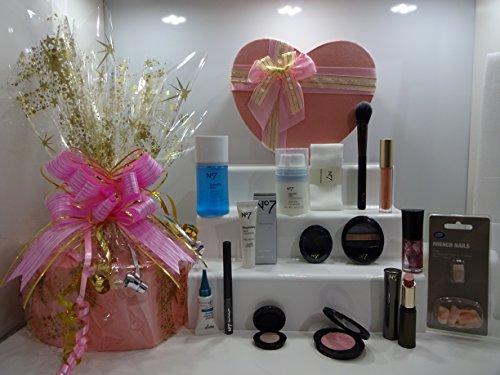 N ° 7 l'Ultime 15PC Beauté Soins de la peau et maquillage Boîte cadeau Panier cadeau pour elle Cadeau Emballé Ensemble cadeau. 213.