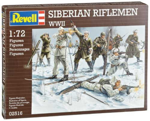 Revell 02516 - Sibirische Schützen, WWII