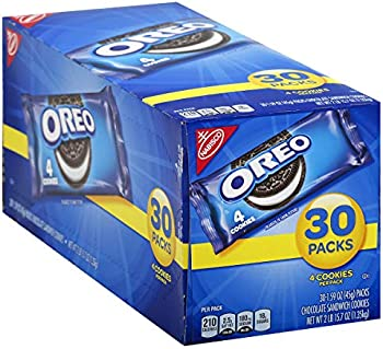 120-Count Oreo Chocolate Sandwich Cookies 1.59 oz Snack Packs