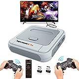 ❤【Arcade Console 41000in 1】 Super Console X Pro est la dernière console de jeu TV. La console de jeux est livrée avec une carte TF de 128Go, 41000 jeux d'arcade rétro populaires intégrés. Prend en charge 51 émulateurs de jeux comme PSP, PS1, n64, DC,...