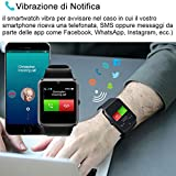 Immagine 2 willful smartwatch uomo orologio telefono