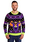 WWE Macho Man Ugly Christmas Sweater 2X Purple