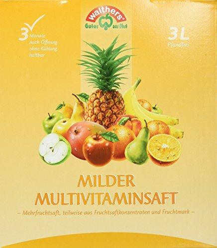Walthers Milder Multivitaminsaft (1 x 3 l)