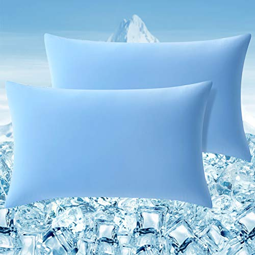 Elegear Cooling Pillow Case 2 Pillowcase with Super Elastic Gentle Skin and...