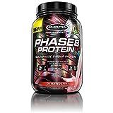 Muscletech Serie Rendimiento Phase 8 Proteínas, Fresa 910 g