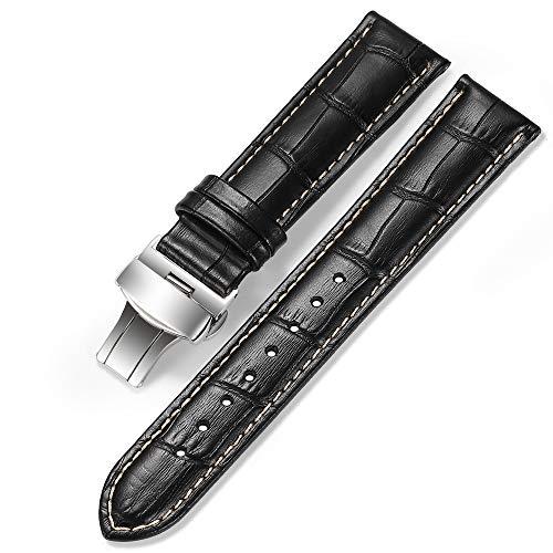 iStrap Cinturini Per Orologio In Pelle - Motivo A Coccodrillo - Cinturini...