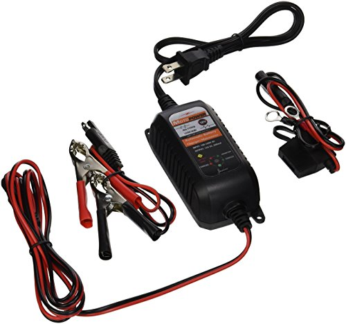 Find Discount MOTOPOWER MP00205 6V / 12V .75A Automatic Battery Charger/Maintainer for Automotive