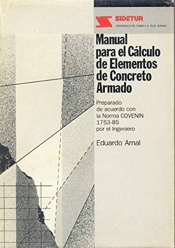 Manual Para El Calculo De Elementos De Concreto Armado
