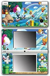 New Super Mario Bros 2 3D Land World Luigi Goomba Video Game Vinyl Decal Skin Sticker Cover for Nintendo DSi System